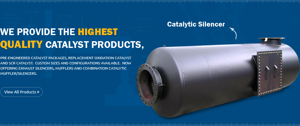 Catalytic silencer